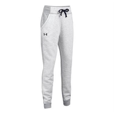 Under Armour Girls Favorite Fleece Jogger Pant - Air Force Grey Heather