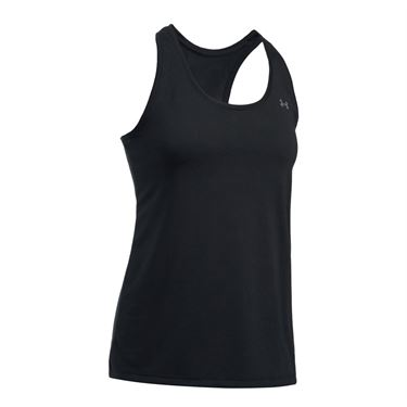 Under Armour Threadborne Train Tank - Black