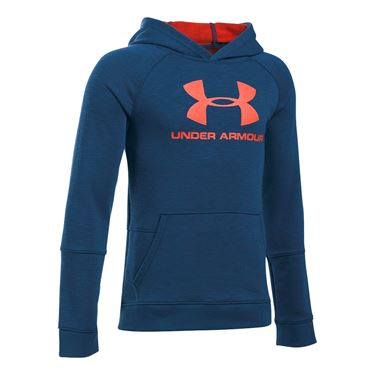 Under Armour Boys Sportstyle Hoodie - Blackout Navy Heather