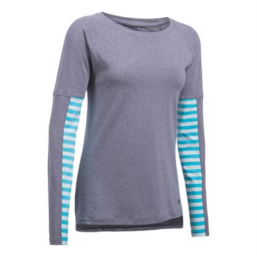 Under Armour Favorite Long Sleeve Top - Midnight Navy