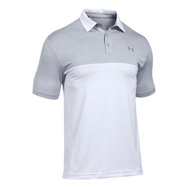 Under Armour Blocked Playoff Polo - Steel