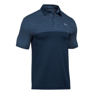 Under Armour Blocked Playoff Polo - Academy