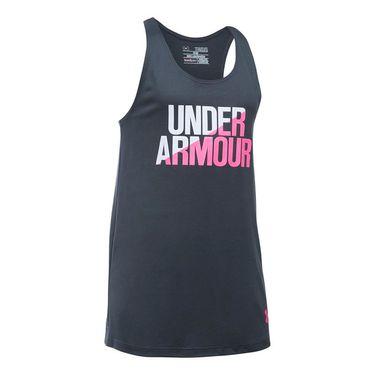 Under Armour Girls Tank - Stealth Grey