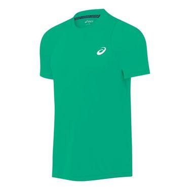 Asics Club Short Sleeve Top- Peacock Green