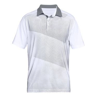Under Armour Fathers Day Polo - White/Zinc Gray
