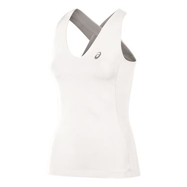Asics Athlete Tank - Real White
