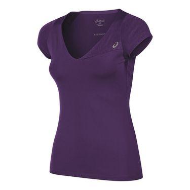 Asics Athlete Short Sleeve Top - Parachute Purple