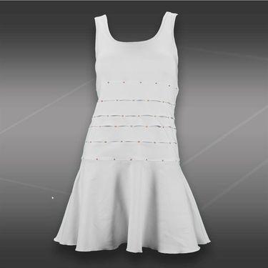 Eliza Audley Copper Patina Dress-Aqua