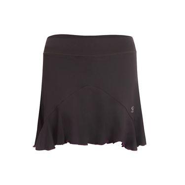 Sofibella Bali Plus Size 15 Inch Skirt - Grey/Amethyst