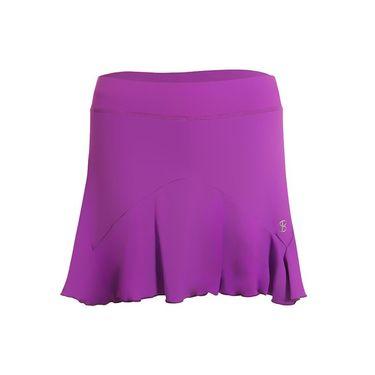 Sofibella Bali Plus Size 15 Inch Skirt - Amethyst