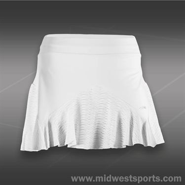 Sofibella Tour Classic 15 Inch Tennis Skirt-White