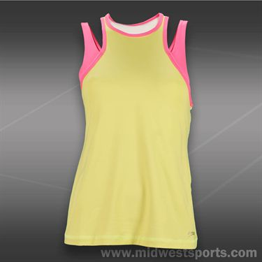 Sofibella Venture Athletic Tank-Citron