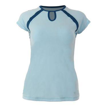 Sofibella Azalea Classic Mock Sleeve Top Plus Size - Ionio