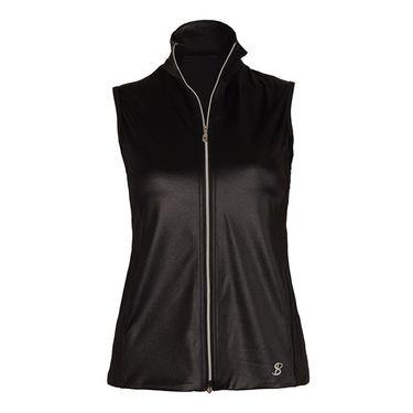 Sofibella Dark Night Fleece Vest - Black