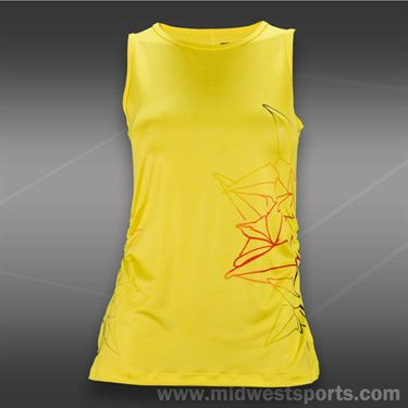 Lija Balance Cut Out Tank-Lemon Multi