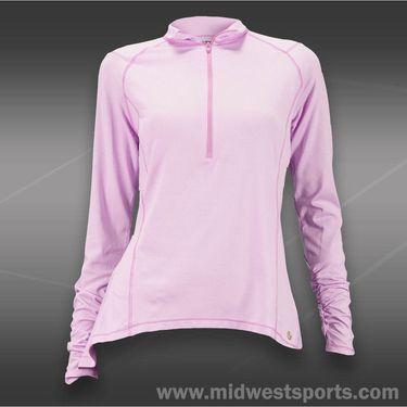 Lija Force 1/4 Zip Pullover-Lilac