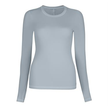 Sofibella Blossom Long Sleeve Top - Stone