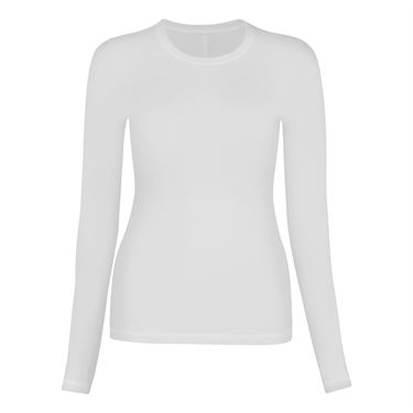 Sofibella Long Sleeve Top - White