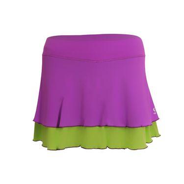 Sofibella Bali 13 Inch Skirt - Amethyst/Kiwi