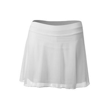 Sofibella White Lily 15 Inch Skirt - White