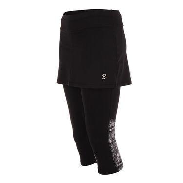 Sofibella Tulum Abaza Skirt - Black/Tulum