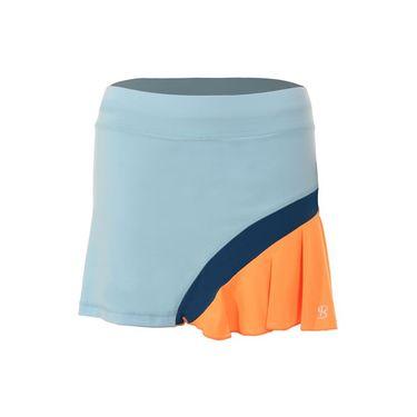Sofibella Azalea 15 Inch Skirt Plus Size- Ionio/Paperino