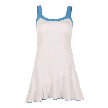 Sofibella Triumph Cami Dress - White/Sky Blue Melange