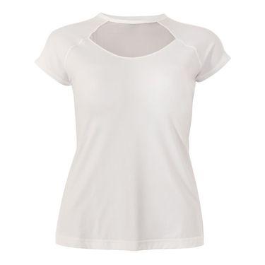Sofibella Plus Size Mock Sleeve Top - White