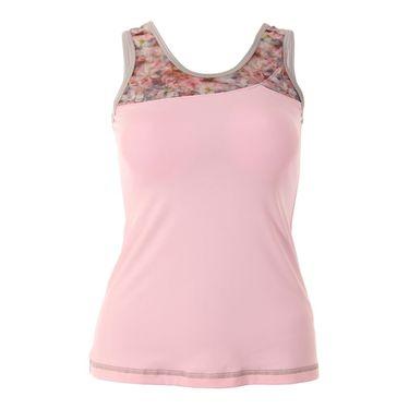 Sofibella Blossom Basic Athletic Tank - Petal Pink