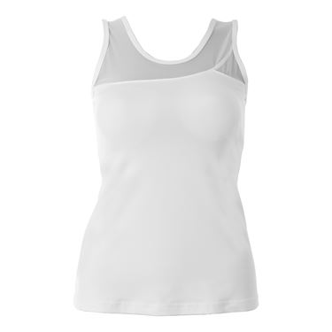 Sofibella White Lily Athletic Tank - White