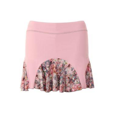 Sofibella Blossom 15 Inch Plus Size Skirt - Petal Pink/Blossom Print