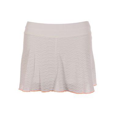 Sofibella Belize 12 Inch Skirt - White/Paperino