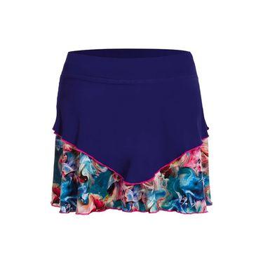 Sofibella Aruba 14 Inch Skirt - Indigo/Carnaval