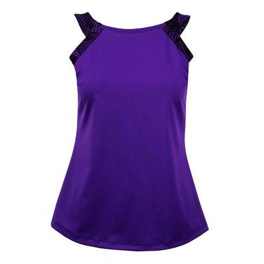 Jerdog Ruby Row Doubles Tank - Purple Print