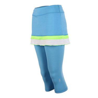 Sofibella Triumph Abaza Skirt - Sky Blue Melange