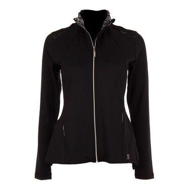 Sofibella Tulum Peplum Jacket - Black/Tulum