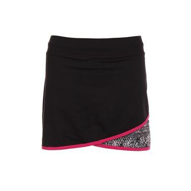 Sofibella Tulum Plus Size 15 Inch Skirt - Black/Tulum