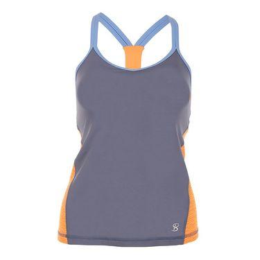 Sofibella Belize Athletic Cami - Romantic Blue/Paperino
