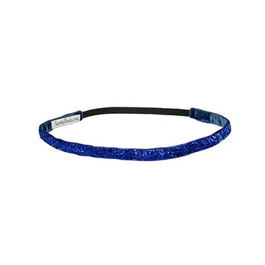 Sweaty Band Viva Diva Blue Super Skinny Headband