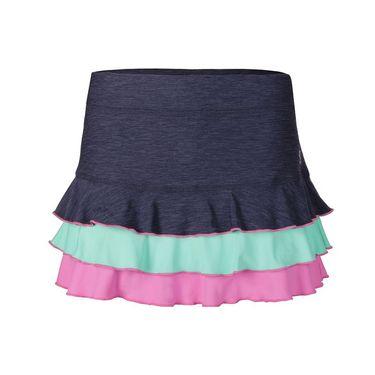 Sofibella Nautical Navy 13 Inch Skirt - Navy Melange