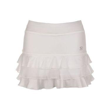 Sofibella Victory 13 Inch Skirt - White