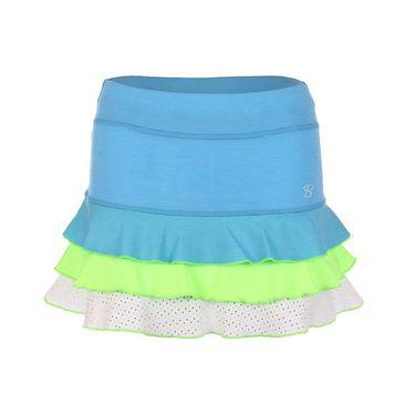 Sofibella Triumph 13 Inch Skirt - Sky Blue Melange