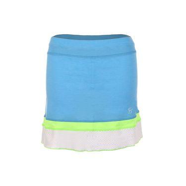 Sofibella Triumph 15 Inch Skirt - Sky Blue Melange