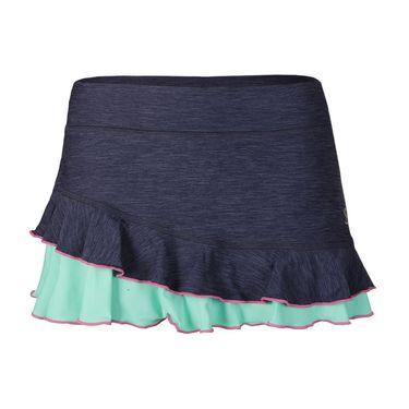 Sofibella Nautical Navy 12 Inch Skirt - Navy Melange