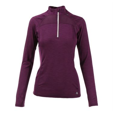 Lija Chemical Romance Score 1/4 Zip Pullover - Acai Purple