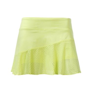 Lija Ethereal Wave Multi Panel Skirt - Peridot