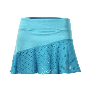 Lija Ethereal Wave Multi Panel Skirt - Topaz