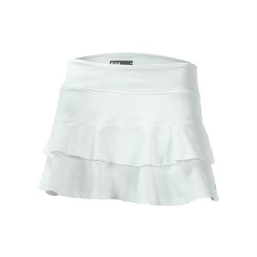 Lija Electric Slide Compression Match Skirt - White