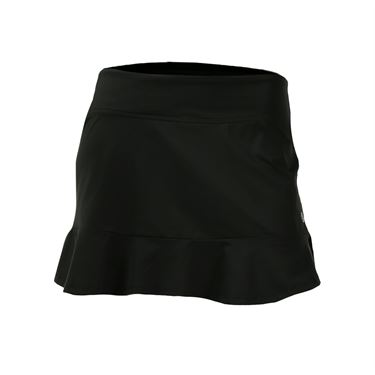 Lija Electric Slide Compression Curve Skirt - Black