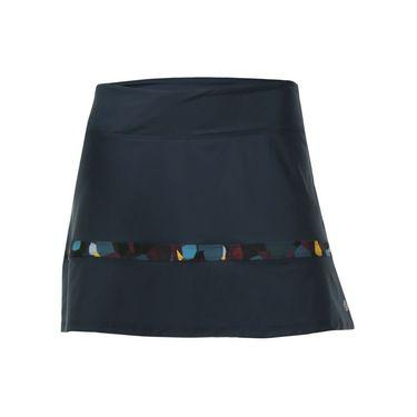 Lija Kinetic Edge Compression Hustle Skirt - Blackberry/Multi
